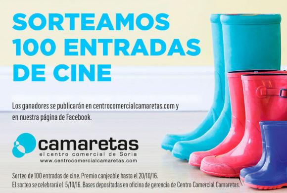 Ganadores 100 Entradas de Cine Gratis Camaretas