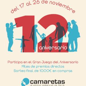 12 Aniversario de Camaretas
