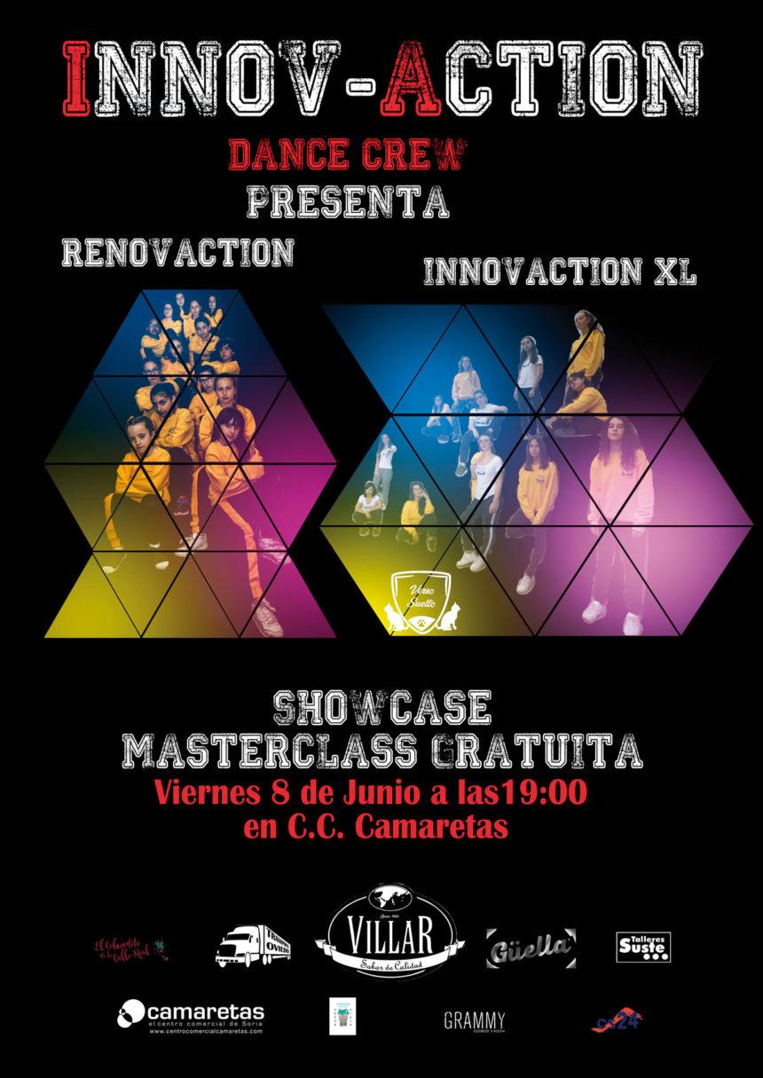 """Masterclass Danza Urbana con """"Innovaction"""""""