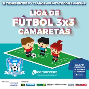 Liga de Fútbol 3×3 Camaretas