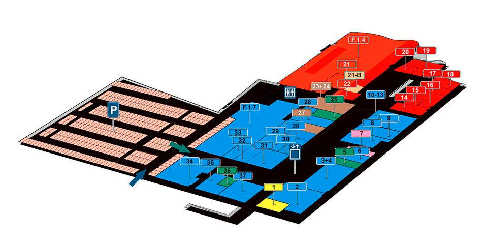 Plano planta 1 Camaretas