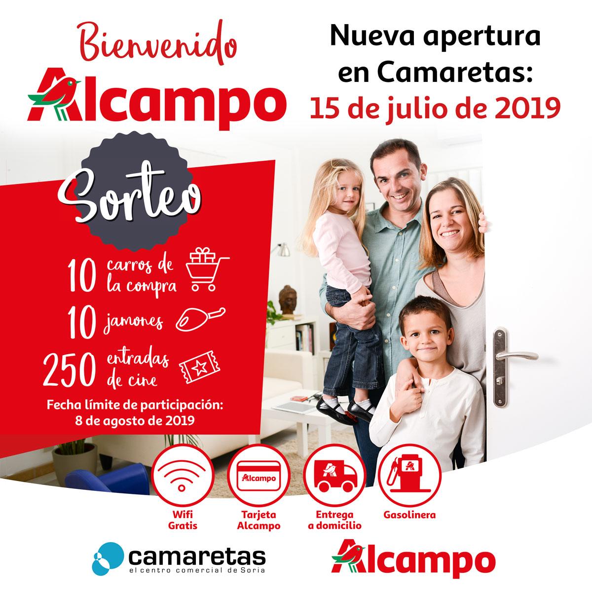 Alcampo Calendario.Bienvenido Alcampo Centro Comercial Camaretas