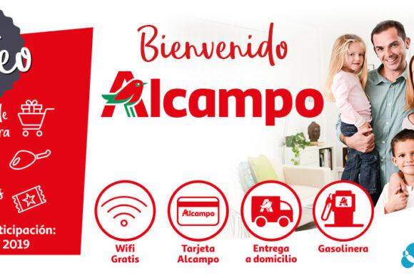 Sorteo «Bienvenido Alcampo»