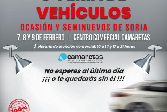 8ª Feria de Vehículos de Ocasión y Seminuevos de Soria