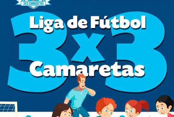 Se aplaza La Liga de fútbol 3×3 en Centro Comercial Camaretas