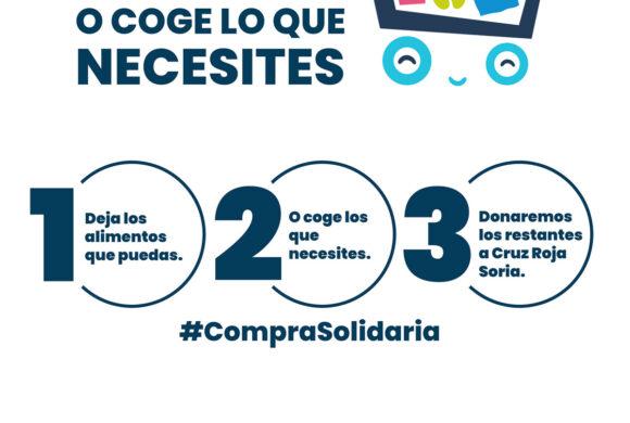 Compra solidaria en Centro Comercial Camaretas